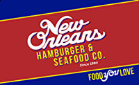 New Orleans Hamburger & Seafood Co. Gift Card