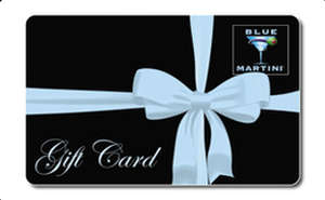 Blue Martini Gift Card