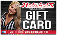 Hotshots Sports Bar and Grill Gift Card