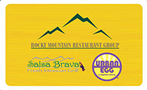 Rocky Mountain Restaurant Group Gift Card