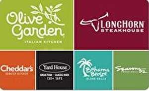 Darden® Restaurants Gift Card