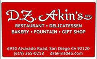 D.Z. Akin's Gift Card