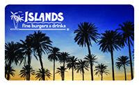 Islands Restaurants Gift Card
