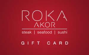 Roka Akor Gift Card