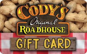 Cody's Original Roadhouse® Gift Card