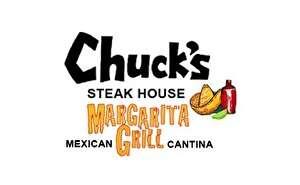 Chuck's Steak House | Margaritagrill Gift Certificate
