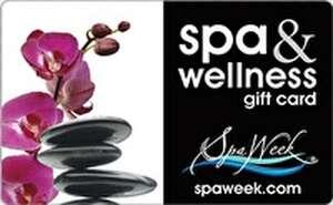 Spa & Wellness Gift Card by Spa Week Gift Card