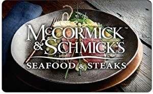 McCormick & Schmick's Gift Card