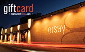 Restaurant Orsay Gift Card