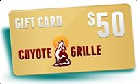 Coyote Grille Gift Card