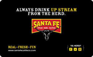 Santa Fe Cattle Co. Gift Card